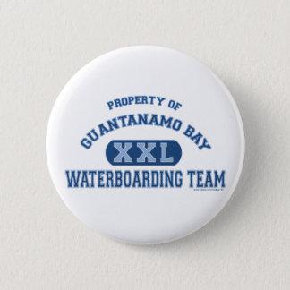 Guantanamo Bay Waterboarding Team Button