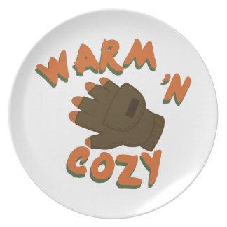 Guante caliente platos