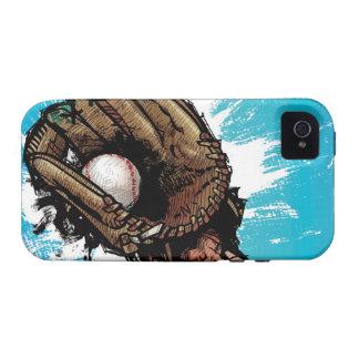 Guante de béisbol con la bola baja Case-Mate iPhone 4 funda