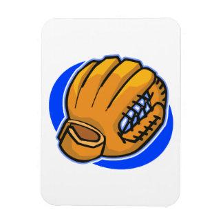guante de béisbol imanes rectangulares