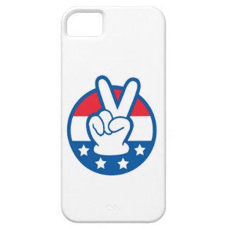 Guante del voto iPhone 5 carcasa