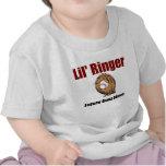 GUANTE FUTURO del ORO del campanero de Lil Camiseta