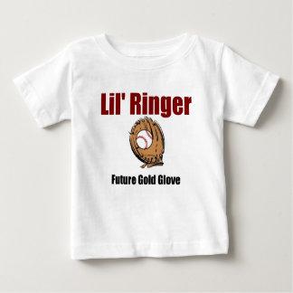 GUANTE FUTURO del ORO del campanero de Lil T Shirts
