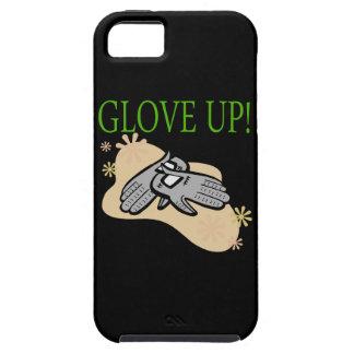 Guante para arriba funda para iPhone 5 tough
