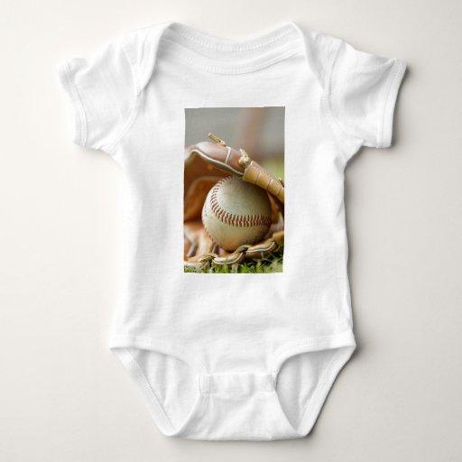 Guante y bola de béisbol body para bebé