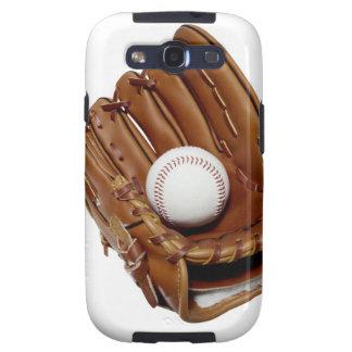 Guante y bola de béisbol galaxy s3 fundas