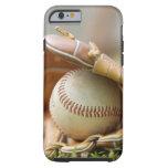 Guante y bola de béisbol funda de iPhone 6 tough