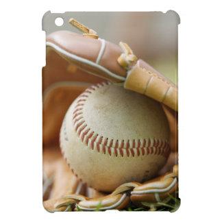 Guante y bola de béisbol iPad mini protector