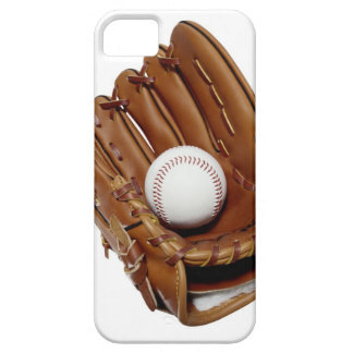 Guante y bola de béisbol iPhone 5 carcasa