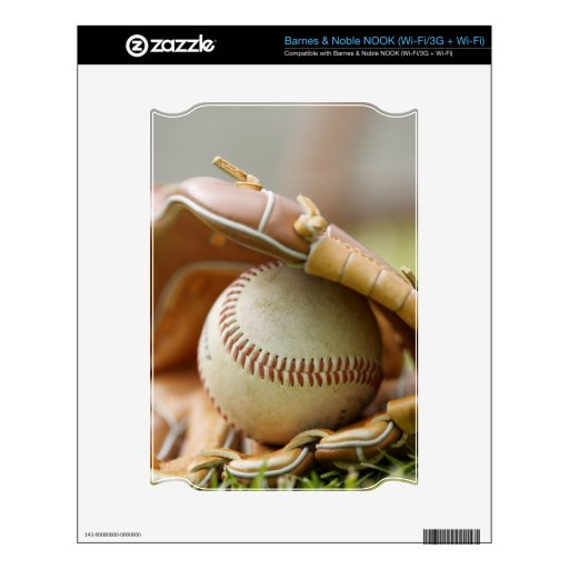 Guante y bola de béisbol NOOK skin