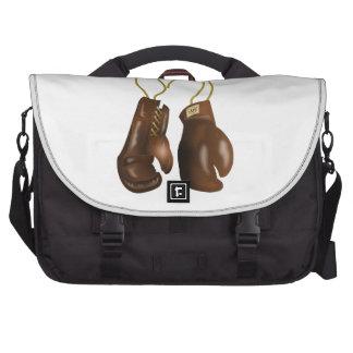 Guantes de boxeo de cuero bolsas para portatil