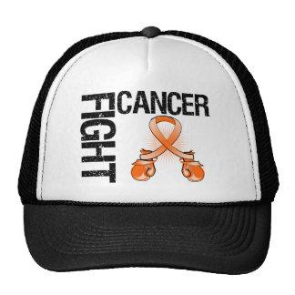 Guantes de boxeo de la lucha del cáncer de la leuc gorras de camionero
