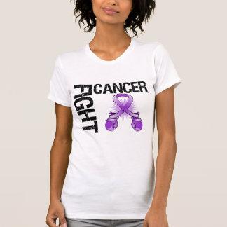 Guantes de boxeo de la lucha del cáncer de camiseta
