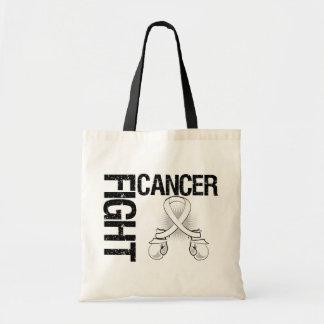 Guantes de boxeo de la lucha del cáncer de pulmón bolsa