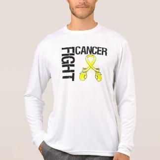 Guantes de boxeo de la lucha del cáncer del sarcom playeras