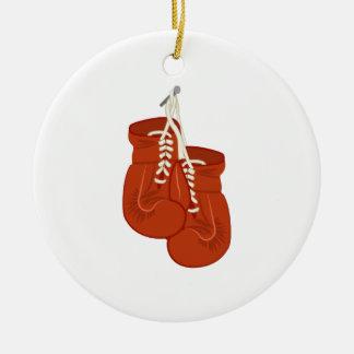 Guantes de boxeo ornamente de reyes