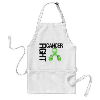 Guantes de boxeo del cáncer de la lucha del linfom delantal