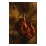 Guantes de boxeo impresiones