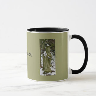 Guanyin Dusted with Lowland Snow Mug