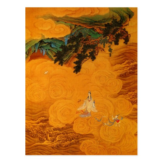 Guanyin in the Tidal Sound cave at Mt Potala Postcard