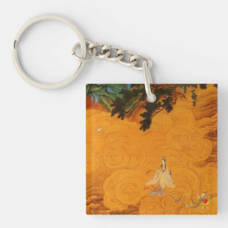 Guanyin in the Tidal Sound cave Keychain