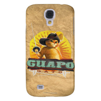 Guapo Gato Galaxy S4 Cover