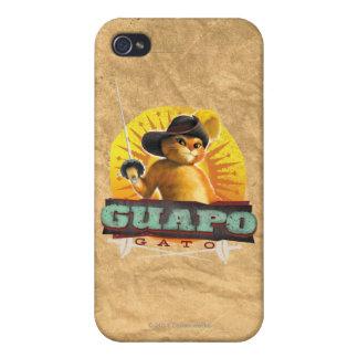 Guapo Gato Cases For iPhone 4