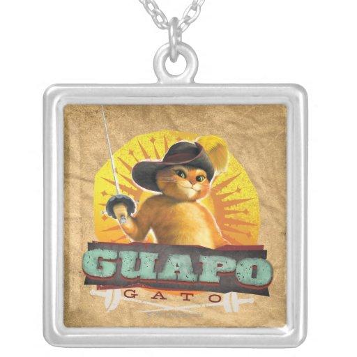 Guapo Gato Pendiente Personalizado