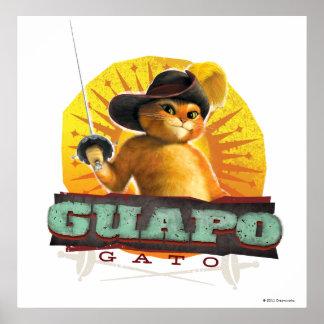 Guapo Gato Print