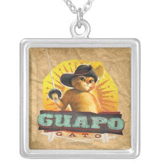 Guapo Gato Silver Plated Necklace