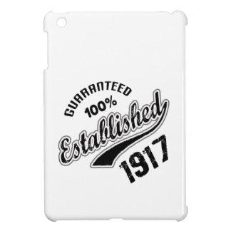 Guaranteed 100% Established 1917 Case For The iPad Mini