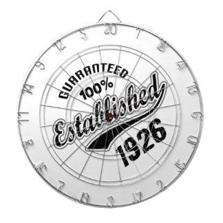 Guaranteed 100% Established 1926 Dartboard