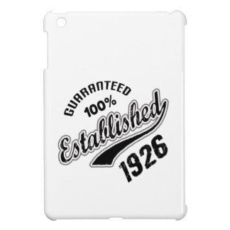 Guaranteed 100% Established 1926 iPad Mini Case