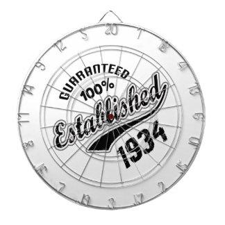 Guaranteed 100% Established 1934 Dartboard With Darts