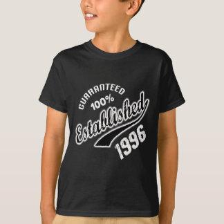 Guaranteed 100% Established 1996 T-Shirt