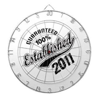 Guaranteed 100% Established 2011 Dartboard With Darts