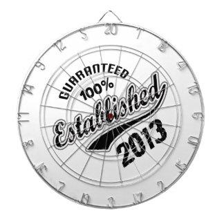 Guaranteed 100% Established 2013 Dart Board