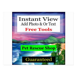 Guaranteed Photo Goods Postcard