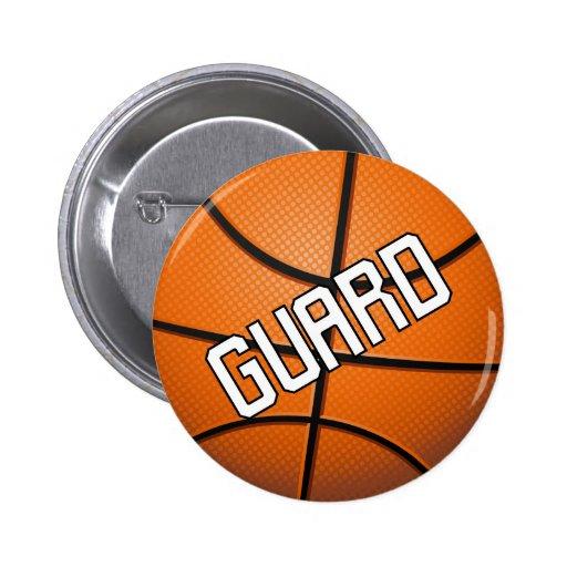 Guard Basketball Pin