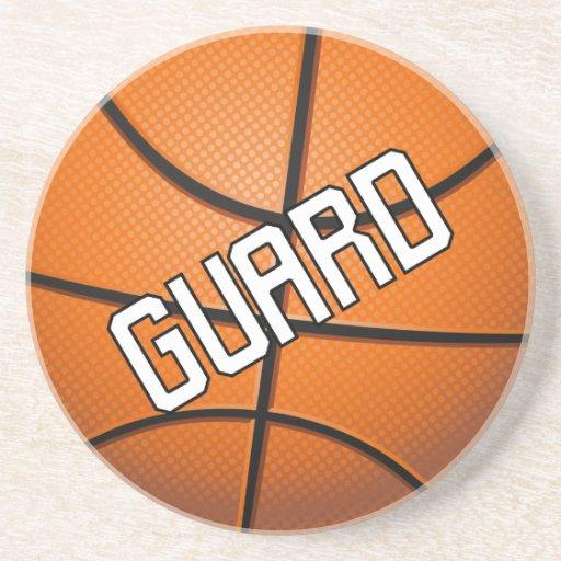 Guard Basketball Coasters