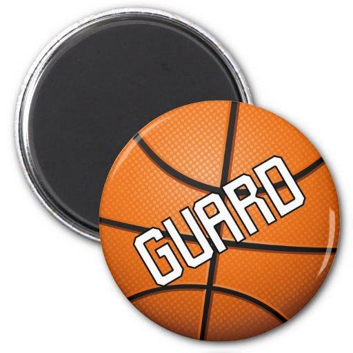 Guard Basketball Refrigerator Magnets