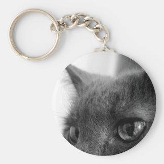Guard Cat Keychain
