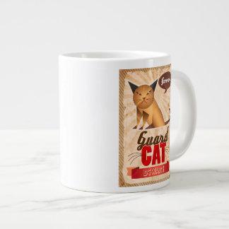 Guard Cat Large Coffee Mug