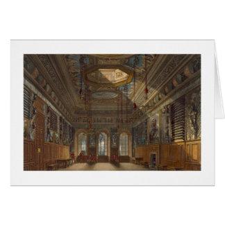Guard Chamber, castillo de rey de Windsor, de 'rea Tarjeta De Felicitación