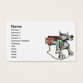 Guard Dog Business Card