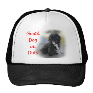 Guard Dog Cap- customize any occasion Trucker Hat