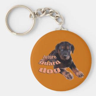 Guard Dog Puppy Keychain