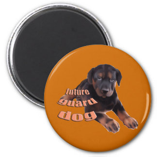 Guard Dog Puppy Magnet