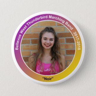 guard_KaitlynF_noir Pinback Button