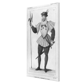 Guard of the provostship of Paris Canvas Prints